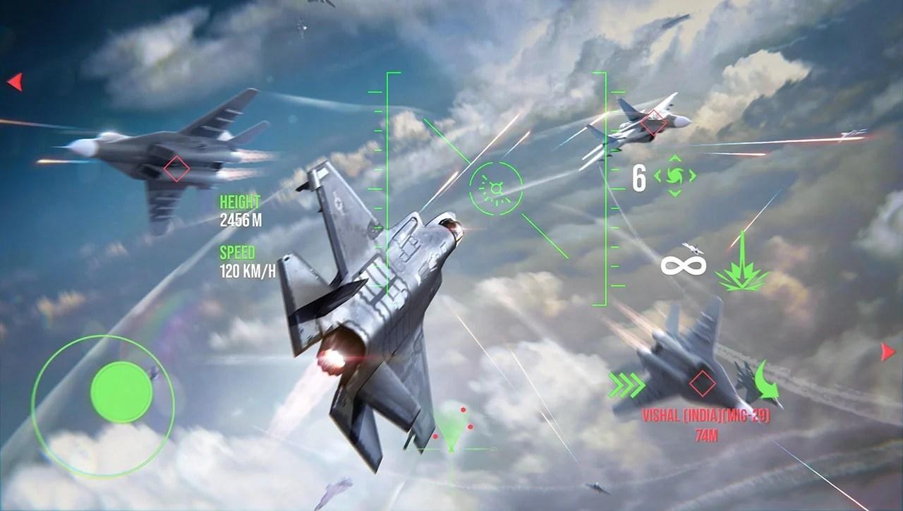 Screen of modern warplanes 3