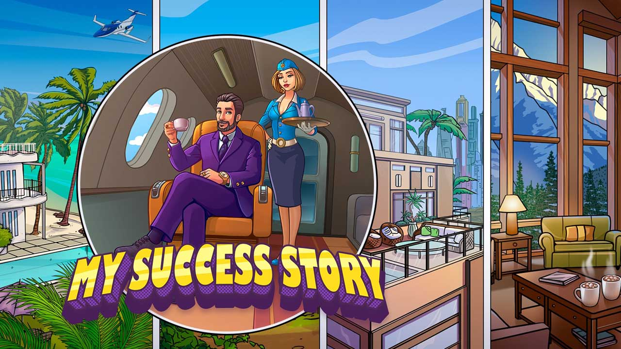 My Success Story Business Game Poster