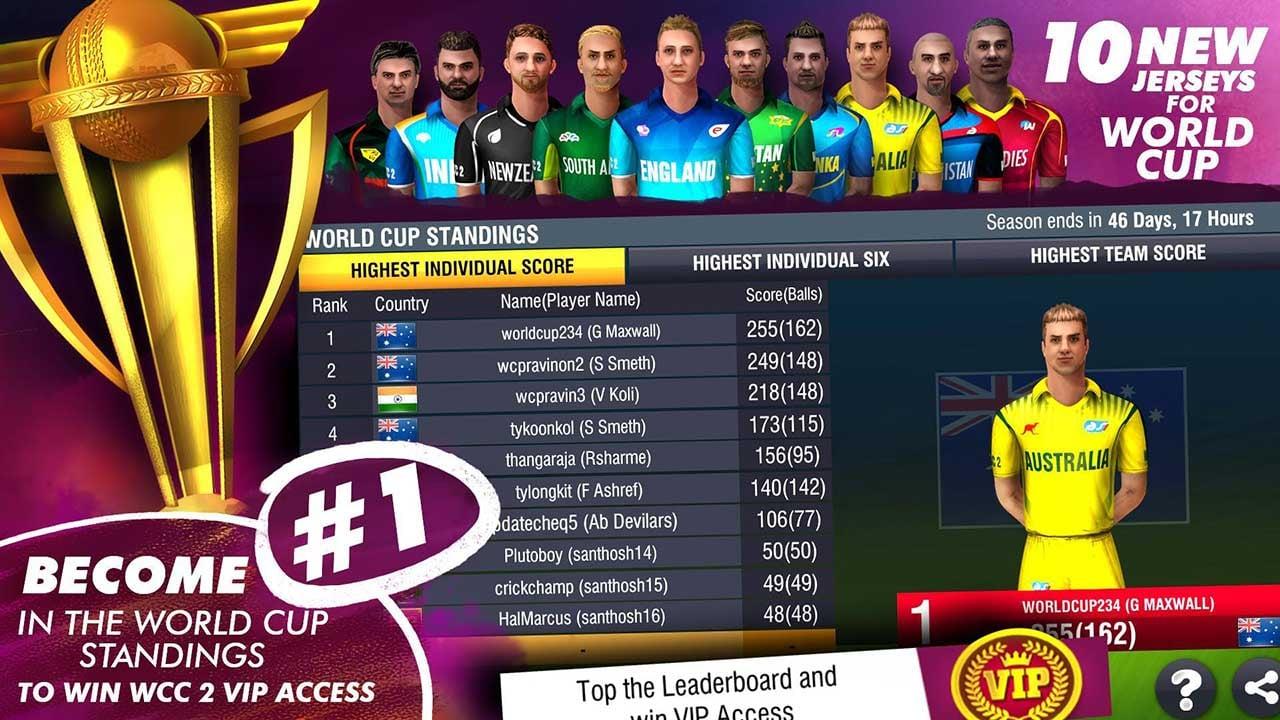 World Cricket Championship 2 Screen 2