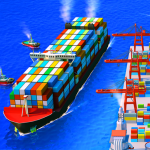 Sea Port Cargo Ship Town Build Tycoon Strategy APK MOD Unlimited Money
