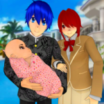 Anime Family Simulator Pregnant Mother Games 2021 1.1.4 APK MOD Unlimited Money