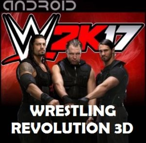 WR3D Mod 2k17 Apk Download