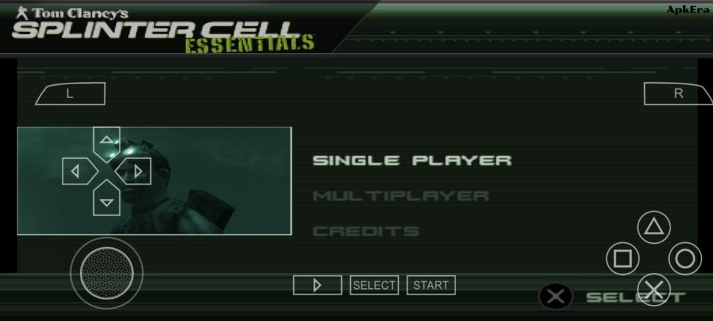 Tom Clancy's Splinter Cell: Essentials PPSSPP Download