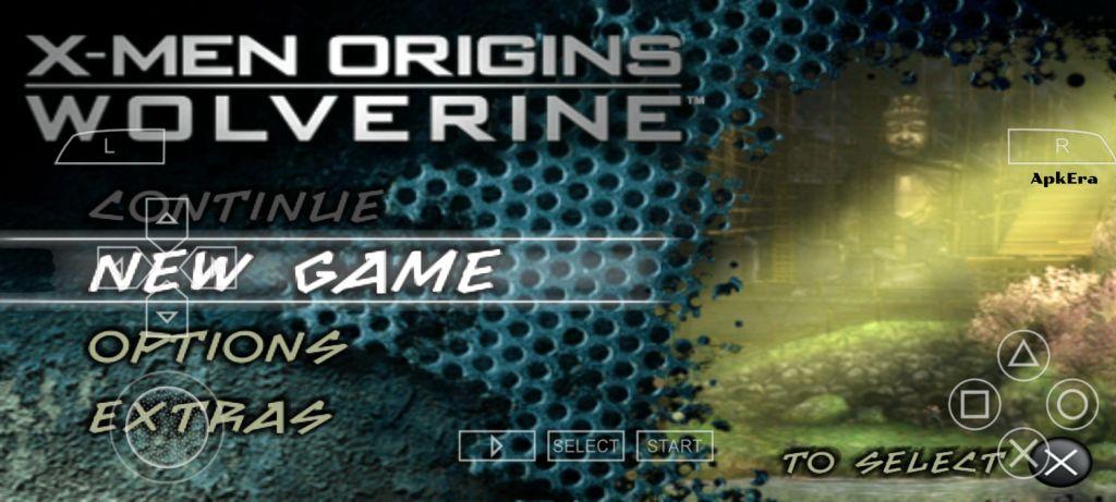 X-Men Origins: Wolverine PPSSPP Download