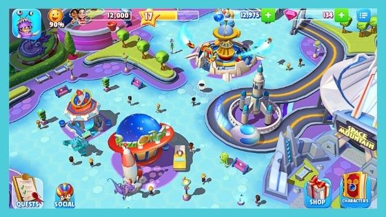 APK Disney Magic Kingdom Mod