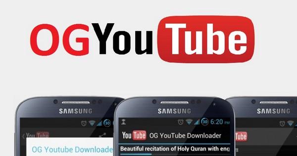 OGYouTube Apk For PC