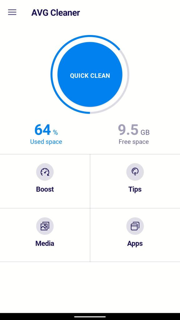 AVG Cleaner Pro Longer battery life