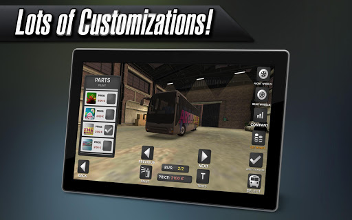 Coach Bus Simulator 1.7.0 screenshots 7