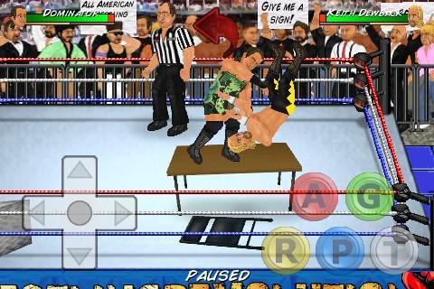 Wrestling Revolution 2.040 screenshots 7