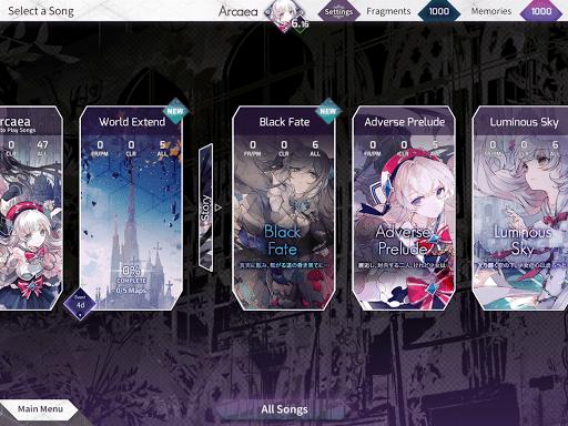 Arcaea – New Dimension Rhythm Game 3.0.5 screenshots 8