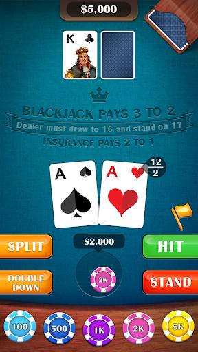 Blackjack 21 – casino card game 2.5 screenshots 2