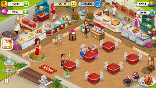 Cafe Tycoon Cooking amp Restaurant Simulation game 4.5 screenshots 6