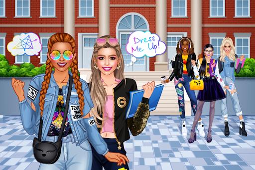 College Student Girl Dress Up 1.0.6 screenshots 1