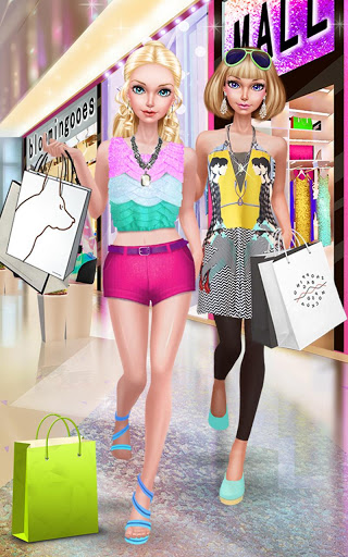 Fashion Doll Shopping Day SPA Dress-Up Games 2.5 screenshots 11