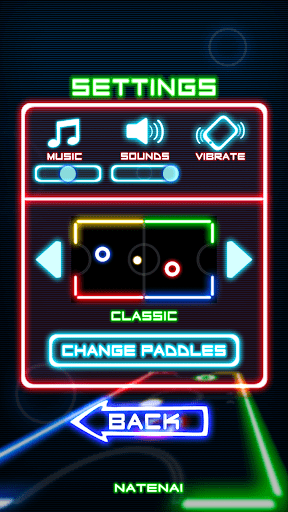 Glow Hockey 1.3.9 screenshots 5