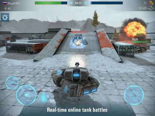 Iron Tanks Free Multiplayer Tank Shooting Games 3.04 screenshots 14
