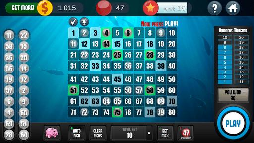 Keno Free Keno Game 2.2.11 screenshots 1