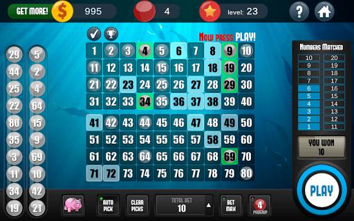 Keno Free Keno Game 2.2.11 screenshots 13