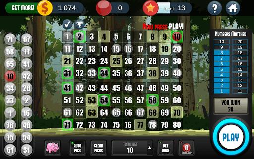 Keno Free Keno Game 2.2.11 screenshots 7