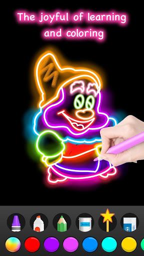 Learn to Draw Glow Cartoon 1.0.16 screenshots 7