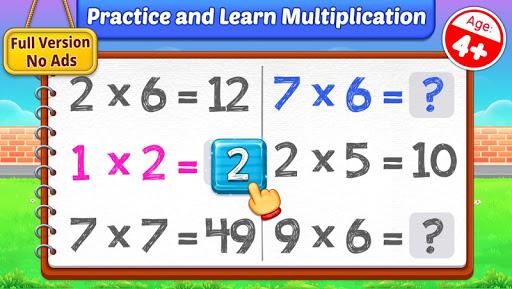 Multiplication Kids – Math Multiplication Tables 1.1.2 screenshots 1