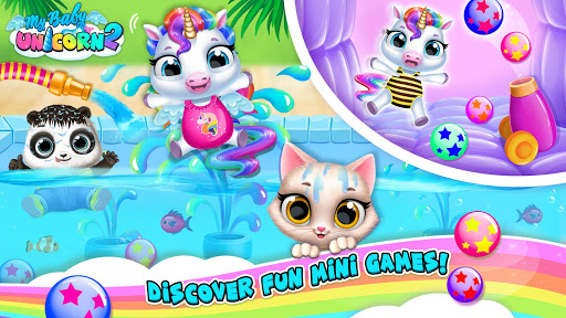 My Baby Unicorn 2 – New Virtual Pony Pet 1.0.44 screenshots 1