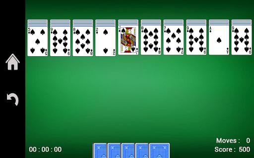 Spider Solitaire 1.16 screenshots 3