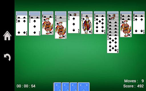 Spider Solitaire 1.16 screenshots 6