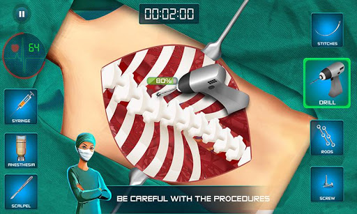 Surgeon Doctor 2018 Virtual Job Sim 1.6 screenshots 4