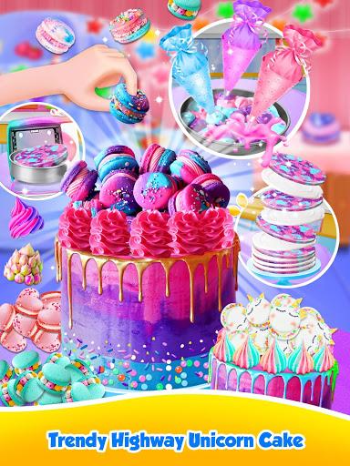 Unicorn Food – Sweet Rainbow Cake Desserts Bakery 2.8 screenshots 11