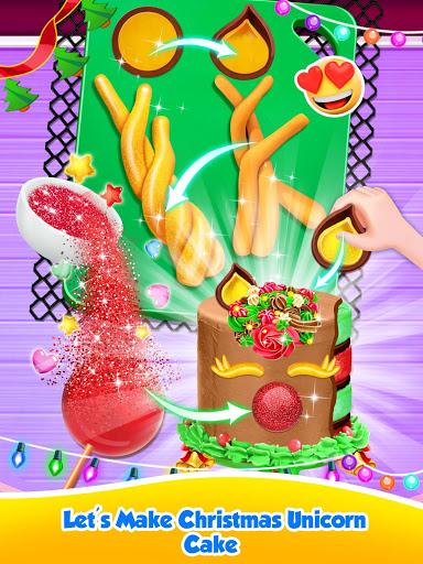 Unicorn Food – Sweet Rainbow Cake Desserts Bakery 2.8 screenshots 12