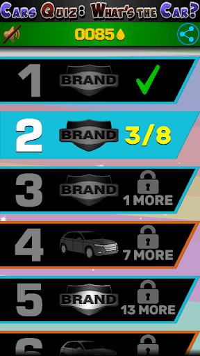 Cars Quiz 3D 2.2.1 screenshots 13