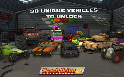 Crash Drive 2 3D racing cars 3.70 screenshots 2