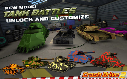 Crash Drive 2 3D racing cars 3.70 screenshots 4