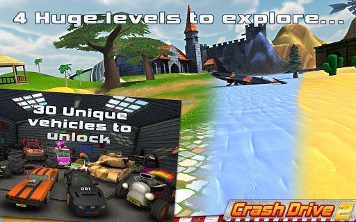 Crash Drive 2 3D racing cars 3.70 screenshots 6