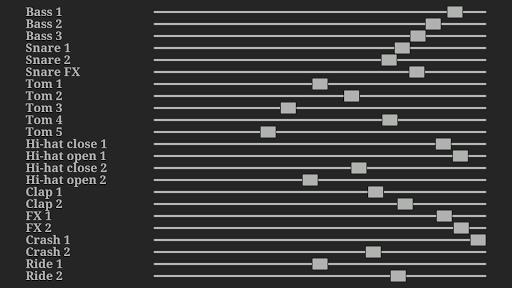 Electronic drum kit 2.07 screenshots 15