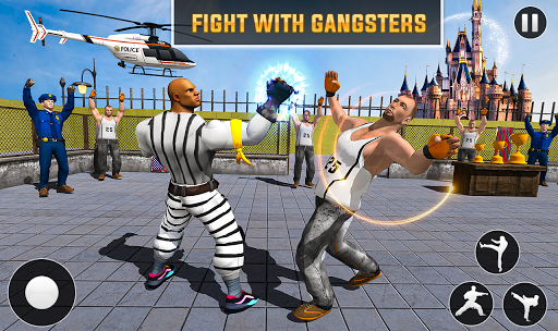 Grand Ring Battle Fight Prisoner Karate Fighting 1.0.8 screenshots 2