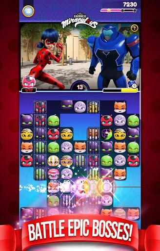 Miraculous Crush A Ladybug amp Cat Noir Match 3 3.0.1568 screenshots 2