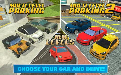 Multi Level Car Parking Games 3.2 screenshots 10