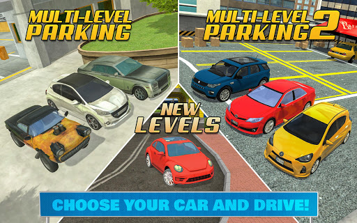Multi Level Car Parking Games 3.2 screenshots 15