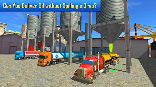 Oil Tanker Transporter Truck Simulator 2.8 screenshots 1