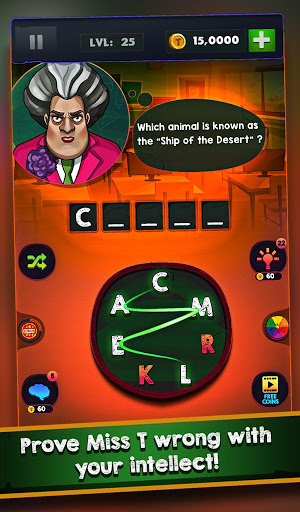 Scary Teacher Addictive Word Game 2.1 screenshots 13