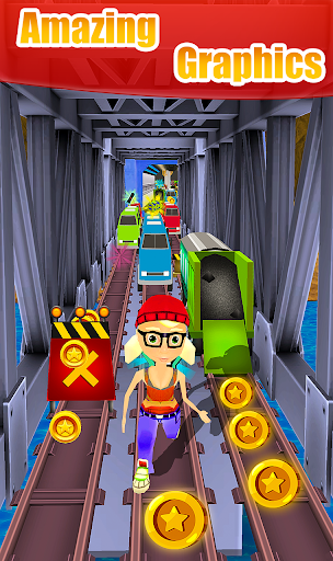 Subway Obstacle Course Runner Runaway Escape 1.1.0 screenshots 1