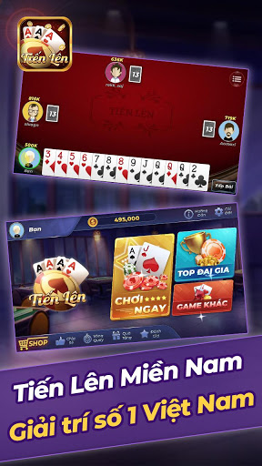 Tien Len Mien Nam Offline 1.11 screenshots 1