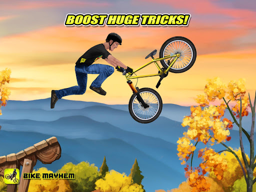 Bike Mayhem Mountain Racing screenshots 13