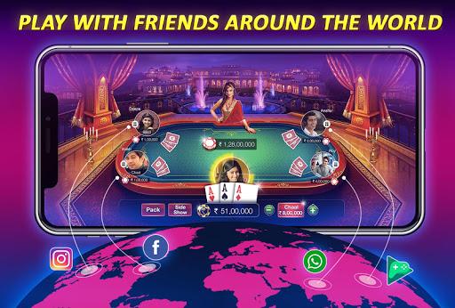 Teen Patti Gold – 3 Patti Rummy Poker amp Cricket 5.61 screenshots 5
