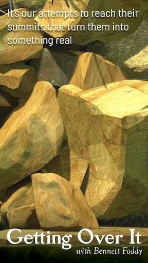 Getting Over It with Bennett Foddy screenshots 5