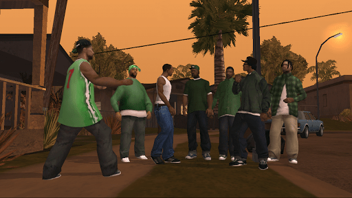 Grand Theft Auto San Andreas screenshots 3