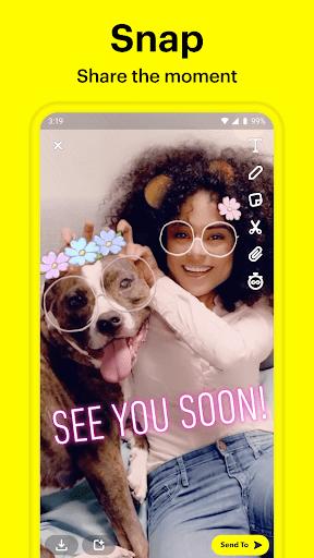 Snapchat 11.5.0.69 screenshots 1