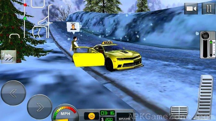Taxi Driver 3D Hill Station APK Mod